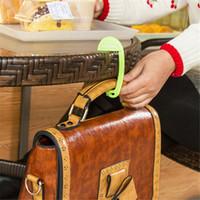 Wholesale Hot Sale Fashion Portable Exquisite Plastic Desk Chair Handbag Tote Hook Hanger Holder DP872427