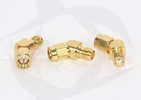 Wholesale 10Pcs SMA male to SMA female degree adapter connector