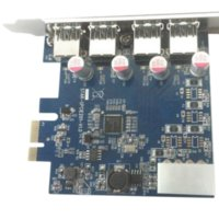 Wholesale High Quality Port USB HUB to PCI e PCI Express Card Adapter Chipset Brandly New