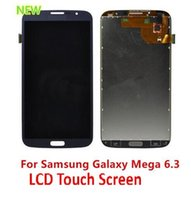 Cheap For Samsung i9200 LCD Display & Touch Screen Digitizer for Samsung Galaxy Mega 6.3 i9200  i527  i9205  R960  L600  M819N DHL Free Shipping