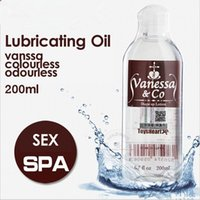 av lubricants - 200ML Japanese AV Use sex anal lubricant Human body water female lubricating oil sexy massage lubricants male Vagina lube toys