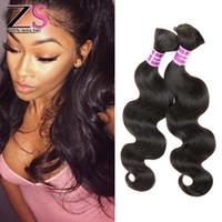peruvian human hair bulk for braiding - 7A Peruvian Virgin Hair Body Wave Bulk Hair For Braiding Human Hair For Braiding Bulk No Attachment Cheap Bulk Hair No Weft inch