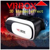 Wholesale Virtual reality glasses BOX VR two generation D glasses no Bluetooth control