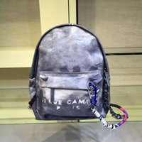 backpacks parties - Travel Bags Graffiti Color Retro Shoulder Backpack Catwalk Women Casual Canvas Bag Classic Doodle Limited Edition Bags