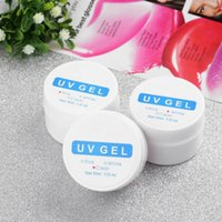 Wholesale 3pcs set Pink White Clear Transparent Color Options UV Gel Builder Nail Art Tips Gel Nail Manicure Extension