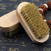 Wholesale 90x38x15mm Rows Holes Soft Bristle Brush Wooden Handle Just Tough Elasticity Cleaning Tools