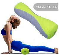 balance massage therapy - Electric Massage Roller Foam Roller for Yoga Balance Exercises and Muscle Massage Therapy W Built in Kneading Massage