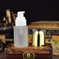 acid shampoo - 30ml glass Frosted Shampoo Package Container Cosmetic Emulsion Cream Packaging Atomizer