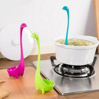 Wholesale 2016 New Colors Nessie Ladle Creative Home Furnishing Cute Styling Spoon Gizmo for Kitchen Fashion PP Nessie Ladle