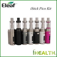 Wholesale New Arrival Eleaf iStick Pico Starter Kit w iStick Pico TC Mod Firmware Upgradeable with ml Melo III ml Melo III Mini Atomizer