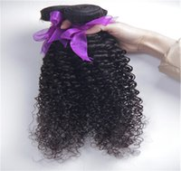 afro hair supplies - Supply Mongolian Kinky Curly Hair Extension Afro Kinky Curly Virgin Human Hair Weave Natural Black Color