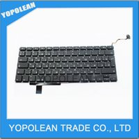 Wholesale NEW A1297 Laptop Keyboard For Macbook Pro Unibody quot A1297 RU Russian Keyboard Price High Quality