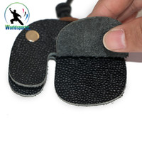 archery bow strings - Hunting Shooting Archery Bow String Finger Protector Leather Finger Guard Tab