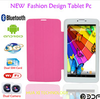 7 inch phablet - 7inch GSM g Phone Call Tablet PC Bluetooth WIFI Webcam GB Sim Card Slot phablet flashlight MTK qual core