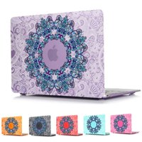 Wholesale Ethnic Ornament Mandala Pattern Kings Color Laptop Bag For Macbook Air Pro Retina INCH with Dustplug Keyboard cover