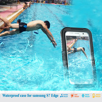 Wholesale Waterproof Diving Case Watertight Cover For iPhone S Plus SE Samsung Galaxy S7 edge S6 edge Note