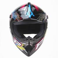 Wholesale motorcycle Adult motocross Off Road Helmet ATV Dirt bike Downhill MTB DH racing helmet cross Helmet capacetes