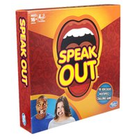 best kids parties - Hottest Speak Out Game KTV party game cards for party Christmas gift newest best selling toy A106
