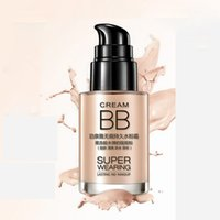 Wholesale 5pcs Skin Care Waterproof Sunscreen BB Cream For Girls Blemish Moisturizing Concealer Foundation Face Cream Beauty Makeup Cover