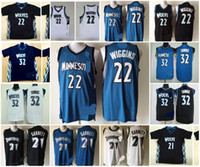 anthony for men - A Minnesota Andrew Wiggins karl anthony towns Kevin Garnett Timberwolves black short white jersey for mens