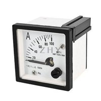 Wholesale AC A Measuring Range Panel Mounting Ammeter Ampere Meter T1 mm x mm