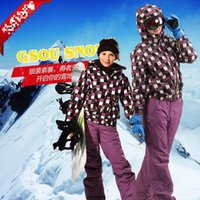 adult ski pants - New High Quality Fashion Adults Kids Ski Suit Sets Windproof Waterproof Winter Ski Jacket Pants Warm Breathable Jacket