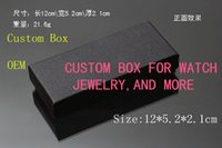 Wholesale 50pcs Gift box for watch Bracelet ring bangle Jewelry Packing boxes display storage paperbox Customized printing No logo