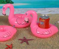 Flamingo Forma bebida pode Titular inflável da associação Kid Partido Toy Favor de partido Toy Abastecimento presente inflável Piscina