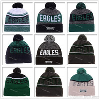 active eagle - New Philadelphia Football Beanies Winter High Quality Wool Beanie Eagles Beanie Embroidered Logo Cool Skull Caps Skullies Knit Cotton Hats