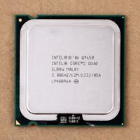 Wholesale 100 Working For Intel Core Quad Q9650 SLB8W GHz MB MHz Socket Processor cpu