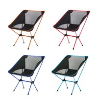 Wholesale Hot Portable Light weight Folding Camping Stool Chair Seat For Fishing Festival Picnic BBQ Beach Chair Seat New