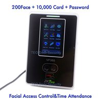 Wholesale ZEM800 Multi function Face Identification Terminal Zk Software VF360 Logs Capacity Facial Access Control ZK Sensor