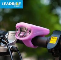 al por mayor bicicleta de silicona faros led-Las nuevas luces recargables de la bicicleta del USB del silicón de la impresión del paseo 2016 bike la linterna de la linterna de la lámpara delantera que montan A50