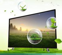 32 pouces de télévision à DEL ultra-mince d'économie d'énergie à écran plat haute définition intégrée fonction de lecture USB pour l'hôtel et la famille