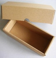 Wholesale HIGH QUALITY MM Corrugated Paper Box with Lid Gift Kraft Paper Box