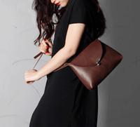 Wholesale New Fashion leather clutch bag women clutch bag saddle type bags designs fashion bag ladies bag designer handbag