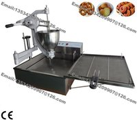 Wholesale Commercial Use Manual Breakwater Donut Ball Ring Donut Doughnut Maker Making Machine with v v Electirc Fryer