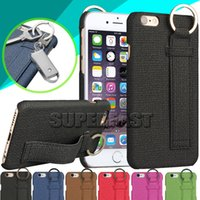 key covers - For Iphone Sofe Skin Cowboy Style Case PU Leather Case With Key Chain Back Cover Case DHL