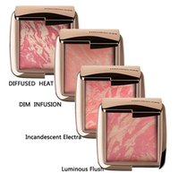 Wholesale HOURGLASS Makeup Face Blush Ambient Lighting Powder Natural Blusher Palette Long lasting Cosmetic Blushes DIM INFUSION Incandescent Electra