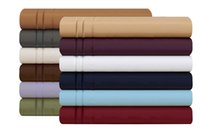 Wholesale Luxurious Sheets Set Line Collection Brushed Microfiber Deep Pocket High Quality Super Soft and Comfortable Hotel Collection Sheet