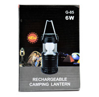 android led flashlight - Camping Lantern Rechargeable LED Solar Lamp Camp Portable Night Light Flashlight Powered for Camping Hiking Fishing Android iPhone DHL