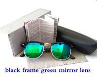 aluminum hinged - Top Quality Polarized Sunglasses For Men Women Brand Designer Fashion Metal Hinge Sunglasses UV400 With Orginal Package