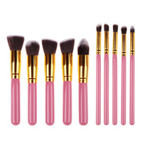 Wholesale High Quality Maquiagem Makeup brushes set Beauty Cosmetics Foundation Blending Blush Make up Brush tool Kit Set WB0236