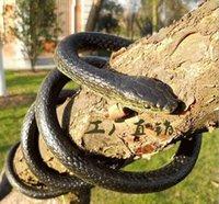 Wholesale Rubber Realistic Snake Halloween Trick Extended Simulation Snake Lifelike Prank Prop Gift Decor Reptile Model Animal