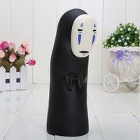 face bank money box - Miyazaki Hayao Spirited Away No Face man coin bank PVC Action Figure Toy piggy bank money box approx cm