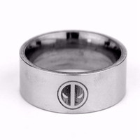 band comics - NEW Fashion Hot Comics Super Heroes Logo Deadpool couples Ring Ring Stainless Steel Charm Gift For Women Men gift