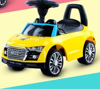 Wholesale 1 years old colorful four wheel CCC certification swing buggy ride on car