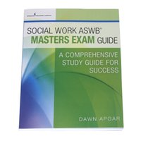 Wholesale 2016 New Book Soclal Work Aswb Masters Axam Guide A Comprehensive Study Guide for Success by Dawn Apgar