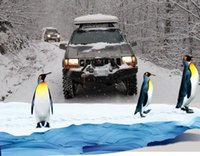 arctic camping - The Arctic winter special cold warm snow special car canopy roof tent camping tent