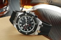auto ap - 2016 New Arrival AP Brand Auto Watch Men mm Black Dial Glass Back Analog Gold Case Gold Band Oak Off Shore Watch